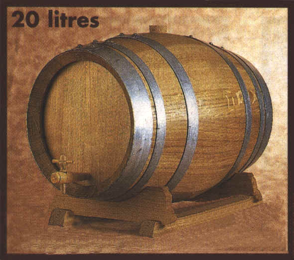 Small Barrel 20l French Oak Oakin